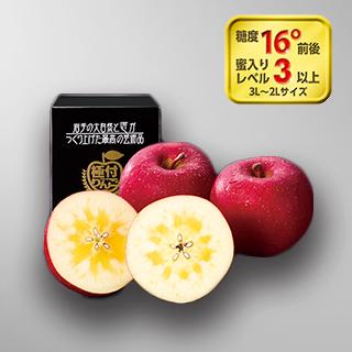 極付りんご・蜜入りサンふじ 大玉1個詰