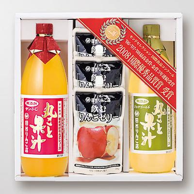 DWセット サンふじ・飲むりんごゼリー×3・ジョナゴールド