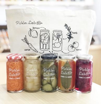 Pickles 5本とオリジナルトートバッグのセット(通常5,250円)15個限定