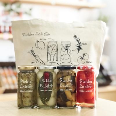 """Pickles4種類の各""""No1""""とオリジナルトートバッグセット (通常4,600円)20組限定"""