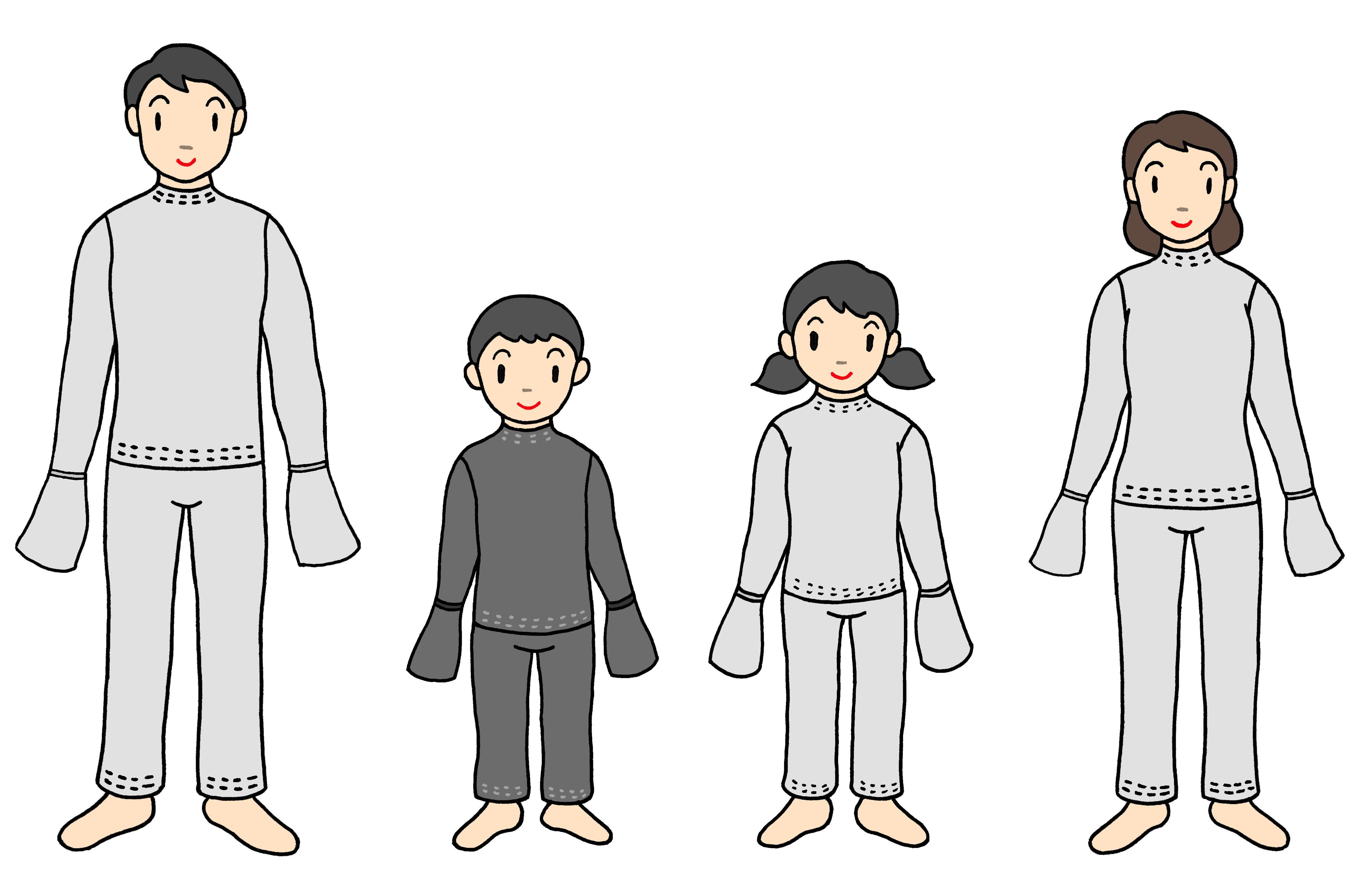 アトピー応援隊 パジャマ