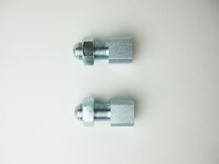 8 UD車系コイル式エアーホース取付ヘッド側ジョイント2個セット