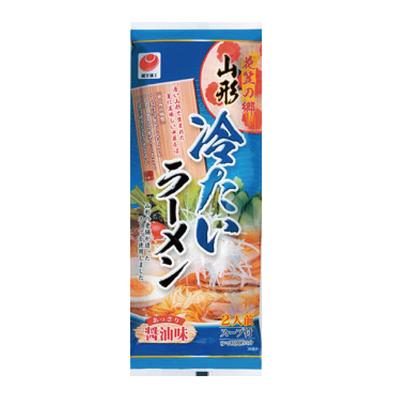 花笠の郷 冷たいラーメン醤油味 254g  20袋入