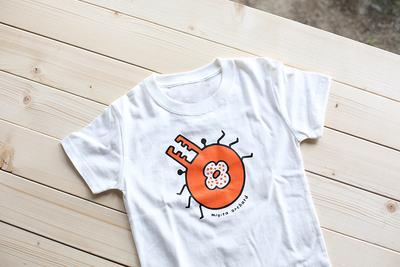 カキクワキッズTシャツ(ホワイト・size120)