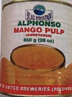 マンゴーパルプ缶850g(インド産)