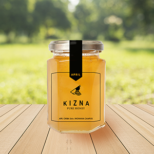 千葉大学 KIZNA PURE HONEY 170g