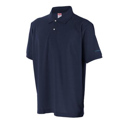 ポロシャツ(ネイビー)