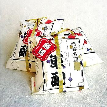 [ 熊谷名物 ] 軍配瓦せんべい 5袋入