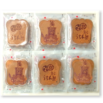 [夏季限定] 熊谷うちわ祭せんべい 24袋入