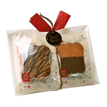 [冬季限定] 軍配ビターチョコせんべい