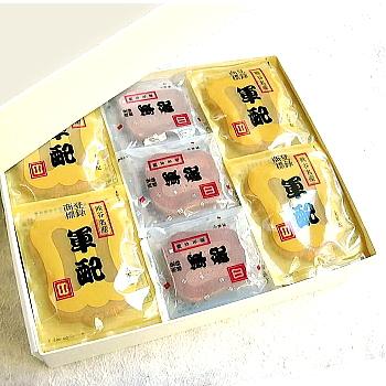 [ 熊谷名物 ] 軍配瓦せんべい 47袋入