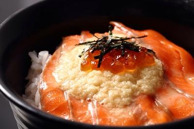 送料無料 サーモンとろろ丼セット(3食)