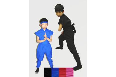 忍者衣装伊賀Version4点セット(子ども夏用)