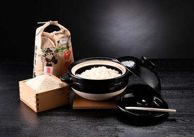【伊賀のごはんセット】伊賀米と伊賀焼土鍋で「伊賀のごはん」を始めよう
