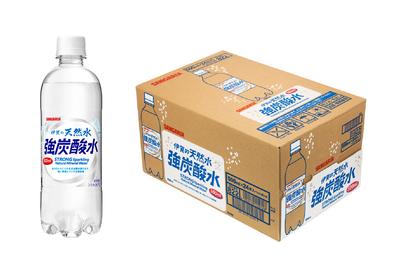 サンガリア「伊賀の天然水 強炭酸水」500mL×24本入ケース