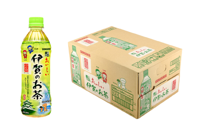 伊賀産茶葉使用・伊賀工場産 サンガリア「おいしい伊賀のお茶」500mL×24本入ケース
