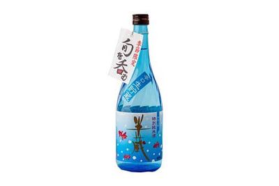 【大田酒造の夏限定商品】半蔵 辛口生貯蔵 金魚ラベル(720mL / 1.8L)