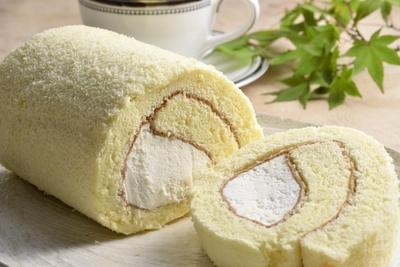 小麦不使用、米粉のケーキを冷凍便でお届け 伊賀米ロールケーキ