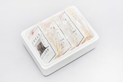 無添加・地元産 伊賀まんま「山椒ちりめん」「ひとくち椎茸煮」詰め合わせ(3点セット)