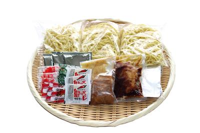 宮古そば食べ比べセット(3食)