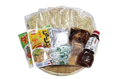 宮古そば(生めん)と沖縄ご飯セット