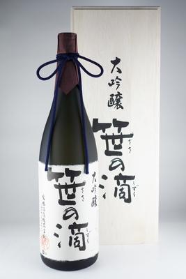 大吟醸 笹の滴 木箱入 1.8L