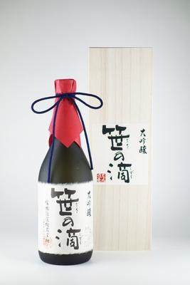 大吟醸 笹の滴 木箱入 720ml(SH-2)