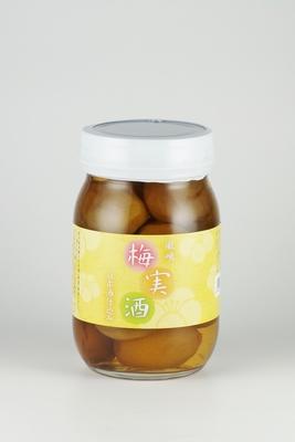 鳳鳴 梅実酒 200ml 梅実185g