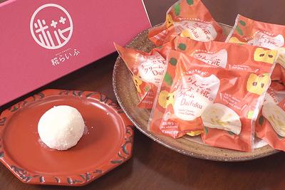 りんごと糀のチーズクリーム大福6個セット【送料無料】