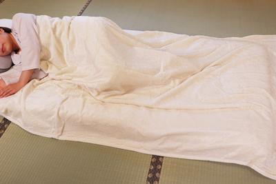 西川 シルク毛布