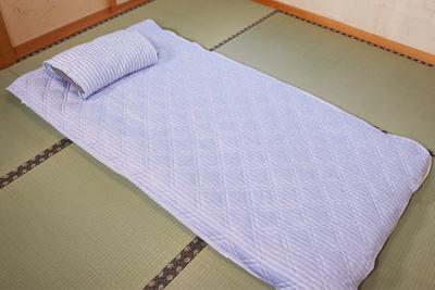 両面使える敷きパッド&枕パッドセット【2枚組】
