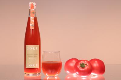やまのえくぼトマトジュース500ml×2本とドライトマトセット