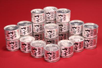 朝獲れさば水煮 24缶セット