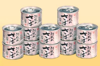 朝獲れさば水煮 12缶セット