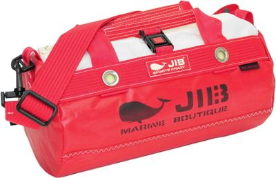 JIB ダッフルバッグSSボーダー DSSB146 レッド
