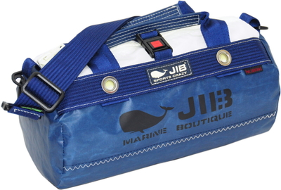 JIB ダッフルバッグSSボーダー DSSB146 ネイビー(同色プリントタグ)
