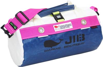 JIB ダッフルバッグSS DSS120 ネイビー×ピンク