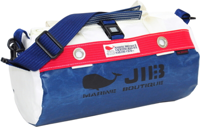 JIB ダッフルバッグSS DSS120 ネイビー×レッド