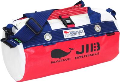 JIB ダッフルバッグSS DSS120 レッド×ネイビー