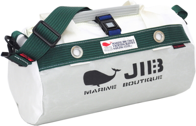 JIB ダッフルバッグSS DSS120 グレー×モスグリーン
