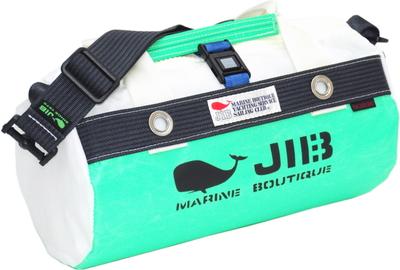 JIB ダッフルバッグSS DSS120 エメラルドグリーン×チャコールグレー