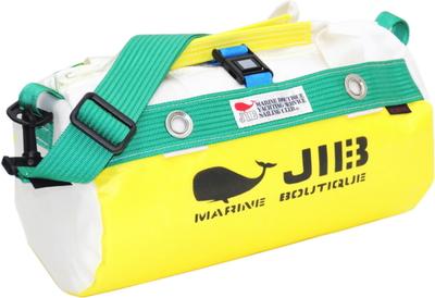 JIB ダッフルバッグSS DSS120 イエロー×グリーン