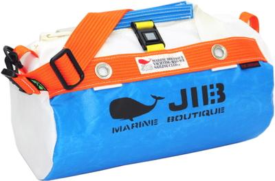 JIB ダッフルバッグSS DSS120 ロケットブルー×オレンジ