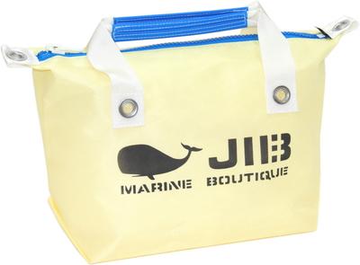 JIB ファスナートートS(オーバーファスナー)FTS68 シトラス×ブルー