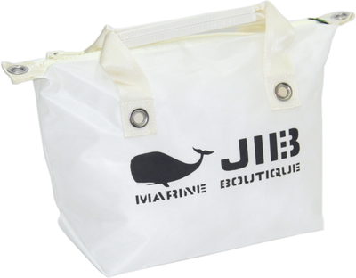 JIB ファスナートートS(オーバーファスナー)FTS68 ホワイト(アイボリーハンドル)