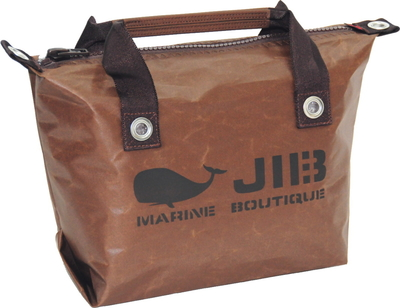 JIB ファスナートートS(オーバーファスナー)FTS68 スペシャルブラウン