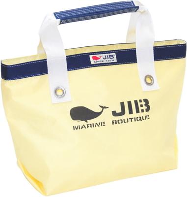 JIB オープントートS(インナーファスナータイプ)TFS100 シトラス×ネイビー