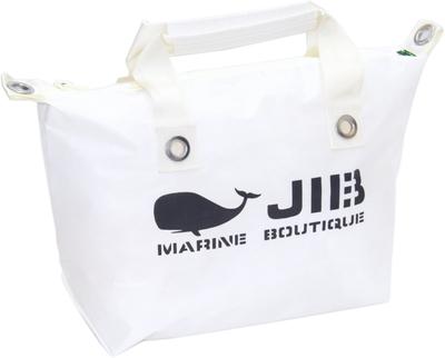 JIB ファスナートートM(オーバーファスナー)FTM88 ホワイト×アイボリーハンドル