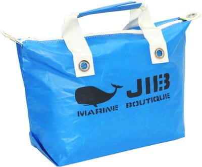 JIB ファスナートートM(オーバーファスナー)FTM88 ロケットブルー×アイボリーハンドル