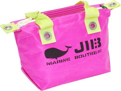 JIB ファスナートートSS(オーバーファスナー)FTSS53 ピンク×ライムグリーンハンドル×ホワイトファスナー